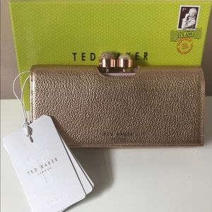 AUTHENTIC Ted Baker Rose Gold Wallet